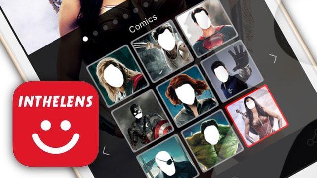 Фотоприколы INTHELENS - шаблоны для замены лиц на iPhone и iPad
