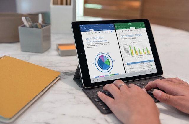 iPad Pro 9,7 дюйма Excel
