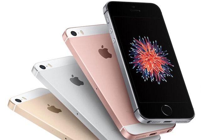 iPhone se все цвета