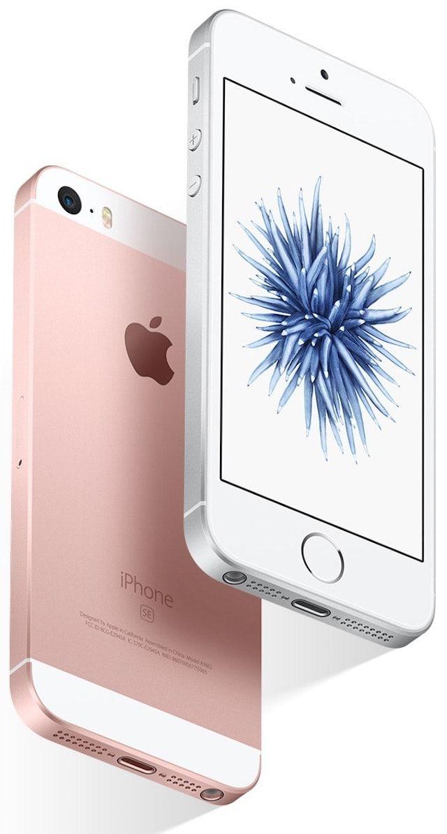 iPhone se цвет розовое золото