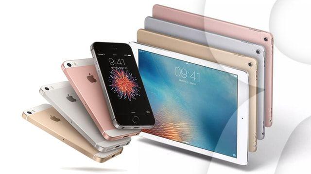 iphone SE iPad pro 9.7