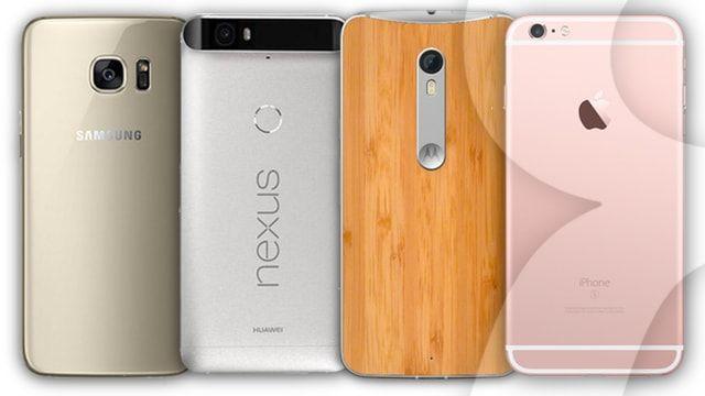 Видеосравнение производительности iPhone 6s, Galaxy S7, Moto X Pure и Nexus 6P