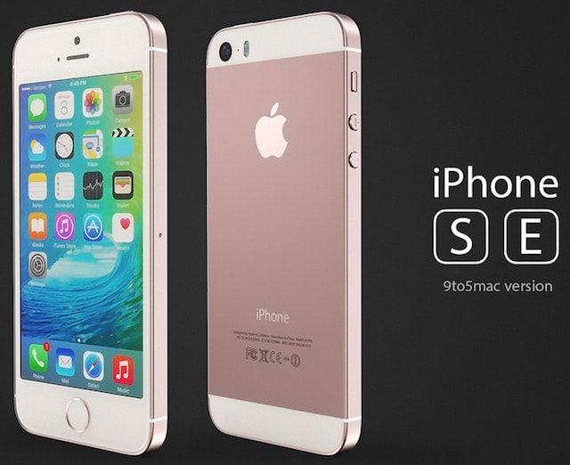 Концепт iPhone SE