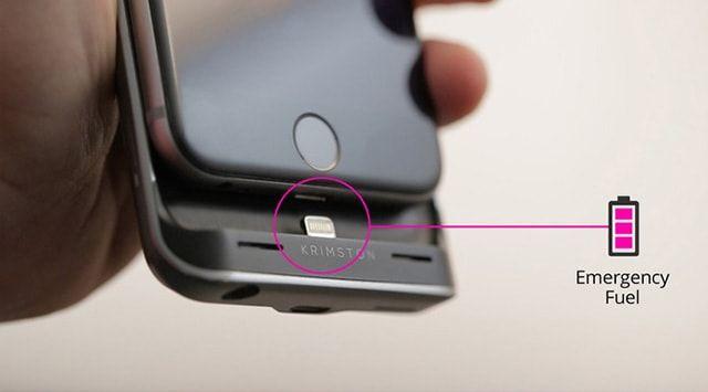 Чехол Krimston TWO позволяет использовать iPhone с двумя SIM-картами