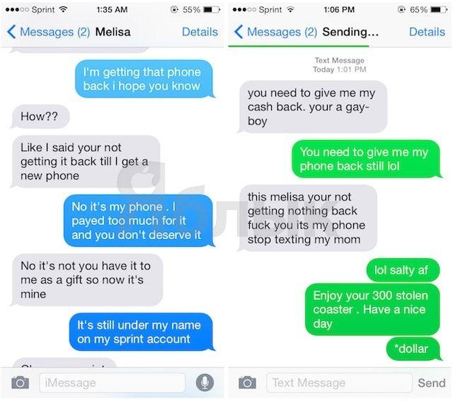 Как правильно забрать подаренный iPhone у своей «бывшей»