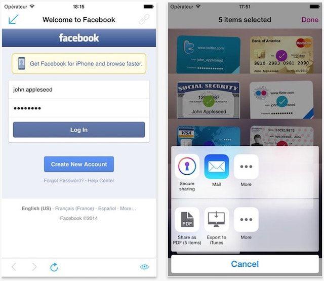 onesafe - менеджер паролей для iPhone и iPad