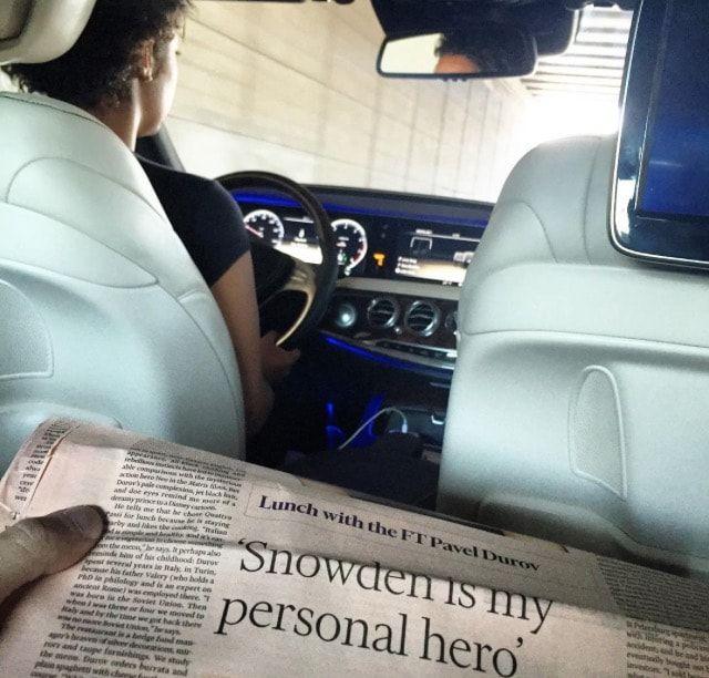 Личный шофер Дурова