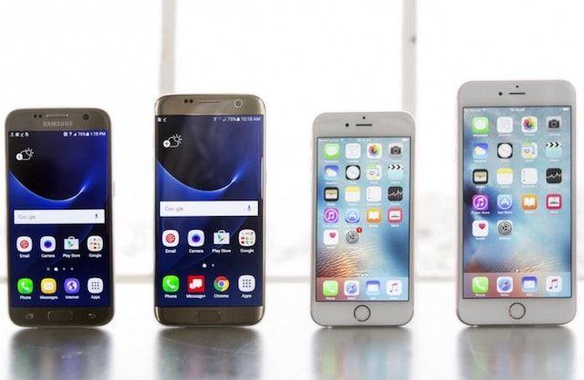 iPhone 6s против Samsung Galaxy S7 в жестких тестах на выживание