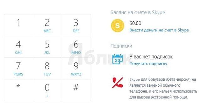 Skype в браузере получил новые возможности