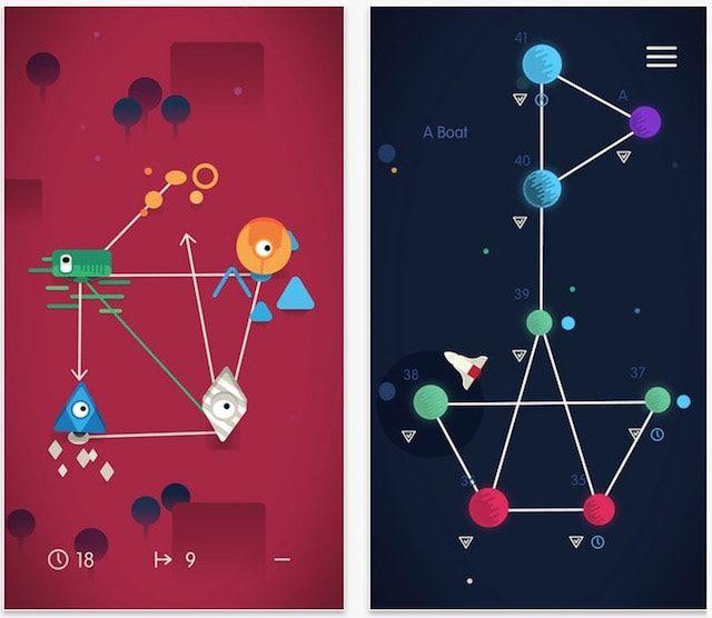 Головоломка Sputnik Eyes для iPhone и iPad