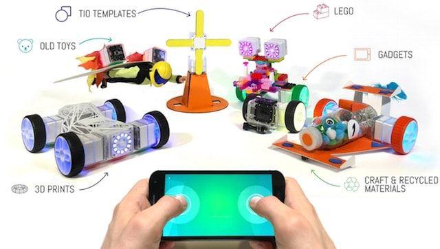 «TIO» - «умный» конструктор с возможностью управления с помощью iPhone