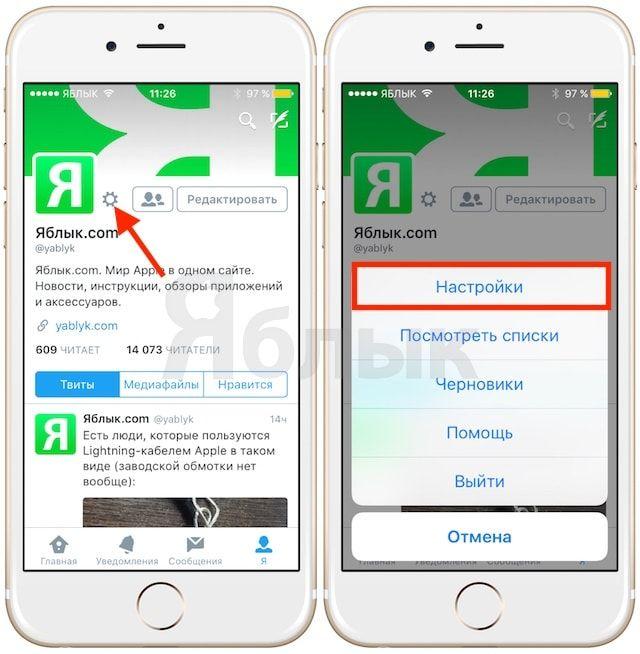 Как вернуть хронологическую ленту в Twitter на iOS