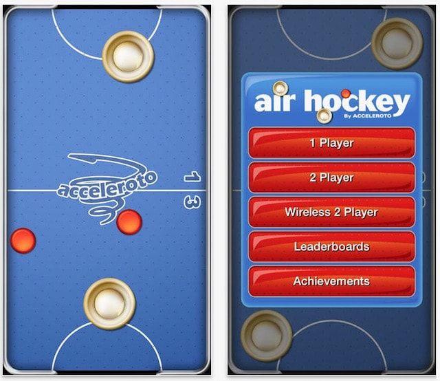 Воздушный хоккей (Air Hockey)