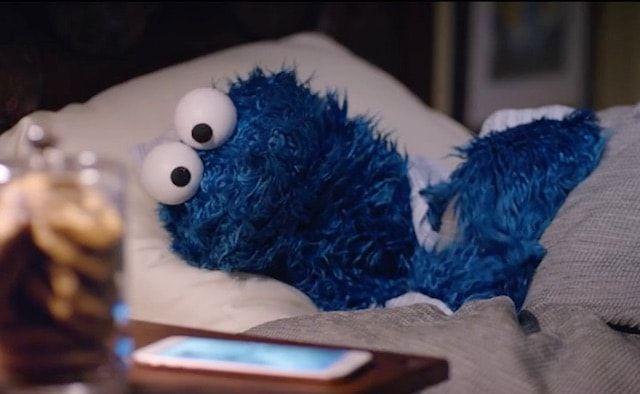 закадровое видео со съемок рекламы iPhone 6s с Печеньковым монстром