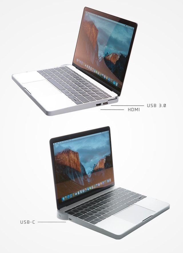 Omni Smart Case – первый «умный» чехол-аккумулятор для Apple MacBook
