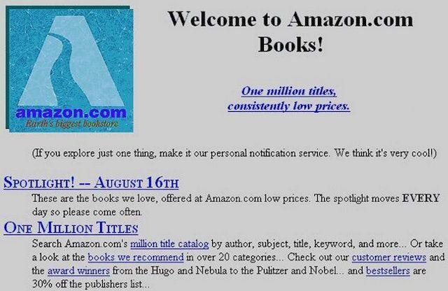 Сайт Amazon