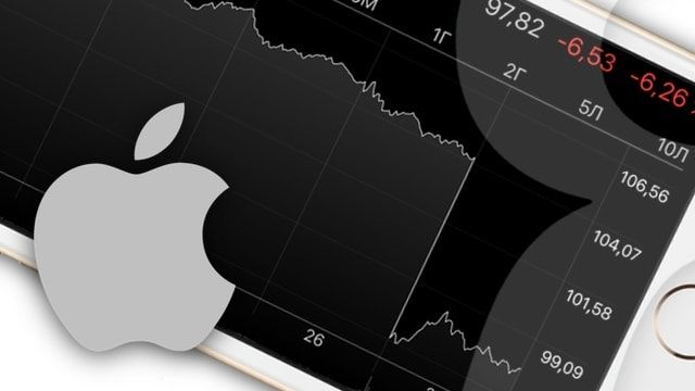 Акции Apple рухнули