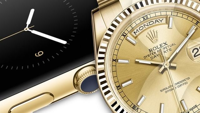 apple watch vs rolex
