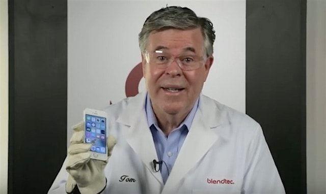 iPhone SE измельчили в блендере