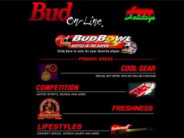 Сайт budweiser