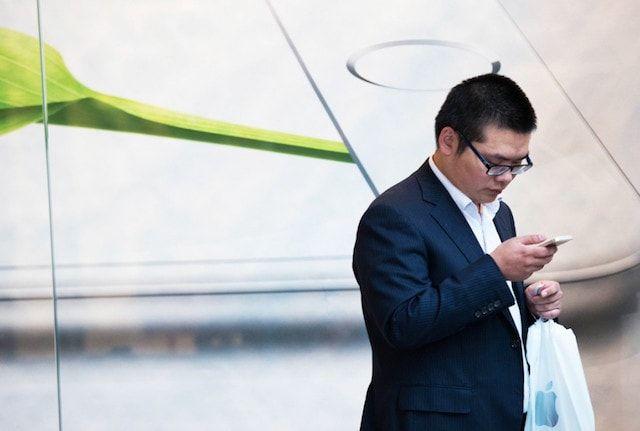 china iphone 6 user