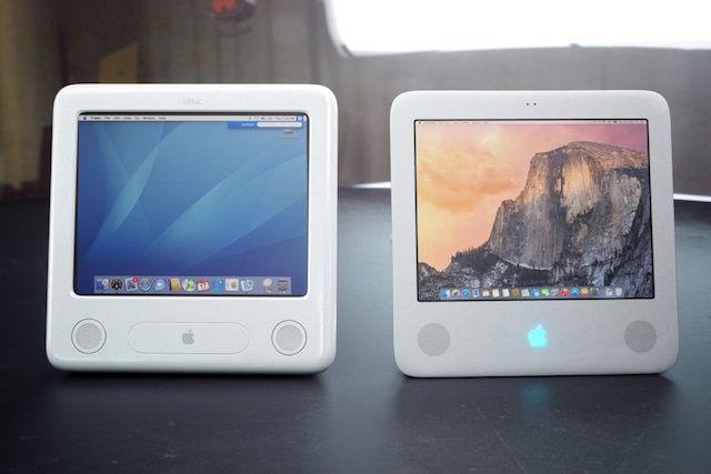 eMac - концепт iMac в ретро стиле