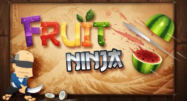 Fruit Ninja для iPhone