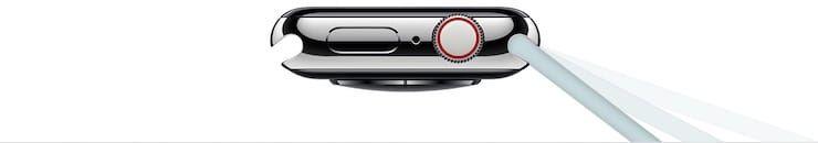 Не используйте незафиксированный ремешок или браслет с Apple Watch