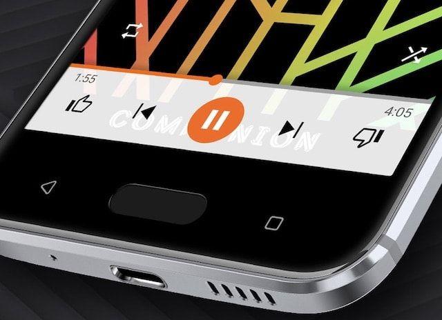 Звук HTC 10
