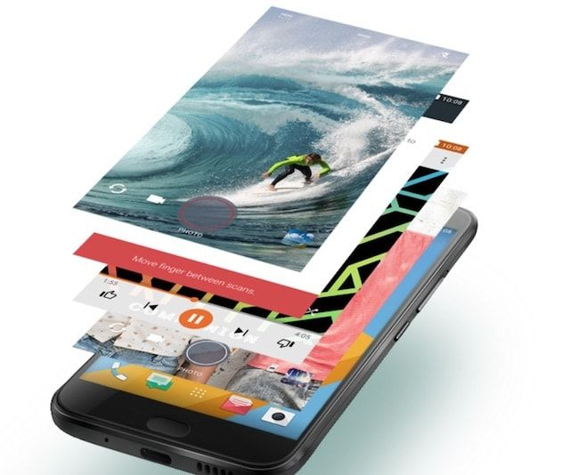 Интерфейс HTC 10