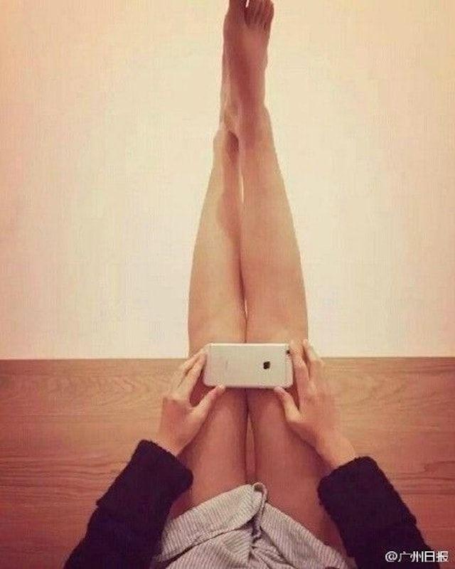 Колени как iPhone