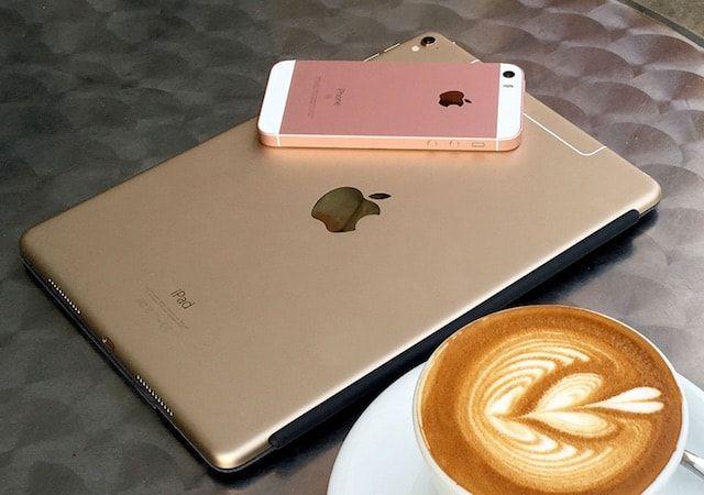 iPhone se и 9,7 дюймовый iPad Pro