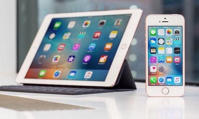 Купить iPhone SE и iPad Pro 9,7 можно уже и в России