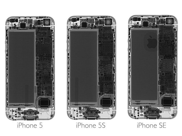 iPhone SE. iPhone 5 и iPhone 5s сравнение комплектующих