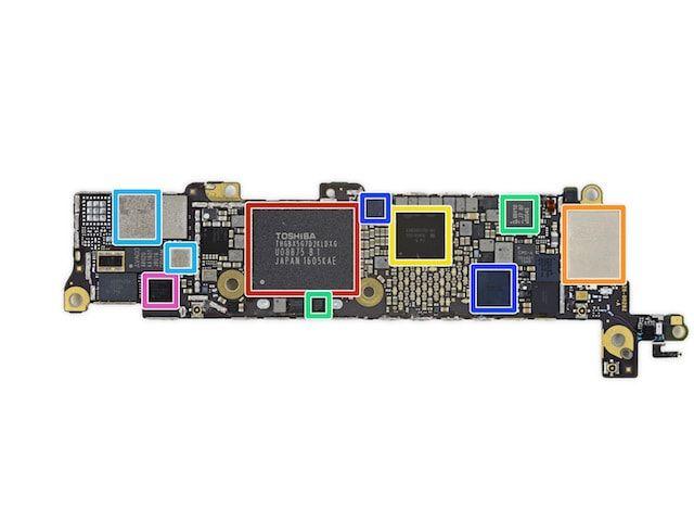 iFixit разобрала iPhone SE