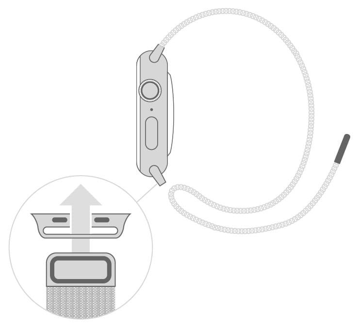 Как снять или заменить миланский сетчатый браслет