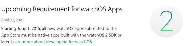 watchOS нативные приложения для Apple Watch