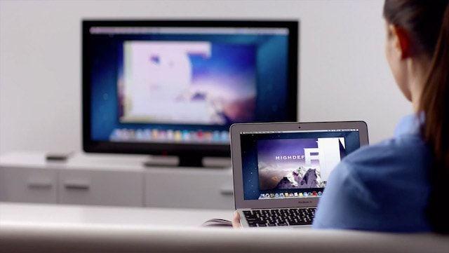 Как транслировать (передать) видео с Mac на экран телевизора