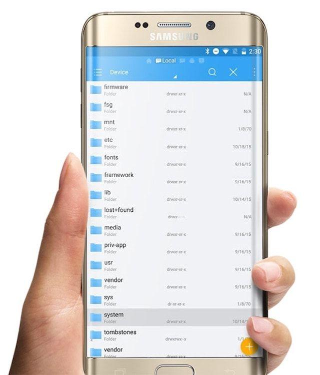 Файловый менеджер Android 6 Marshmallow