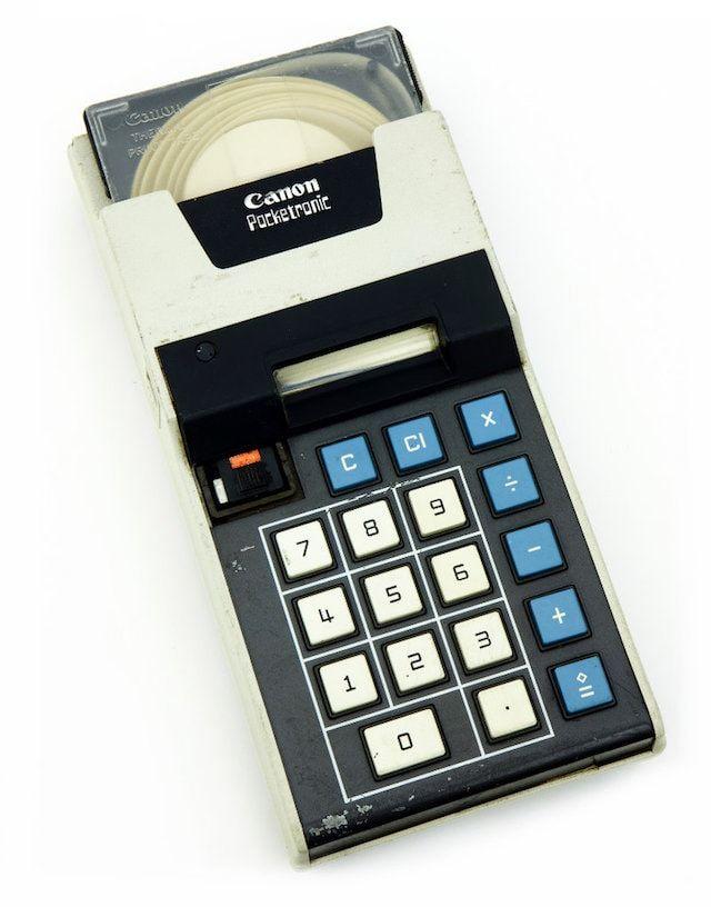 Canon Pocketronic Calculator