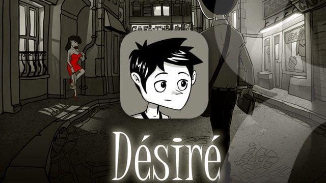 Désiré – социальный черно-белый квест для пользователей iPhone