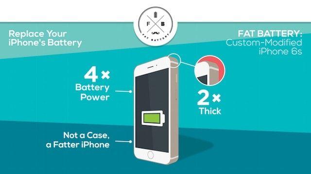 Fat Battery, или как увеличить емкость батареи iPhone в 4 раза
