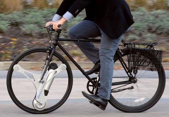 GeoOrbital - колесо, которое превратит ваш велосипед в электробайк
