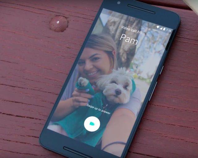 Сервис видеосвязи Google Duo