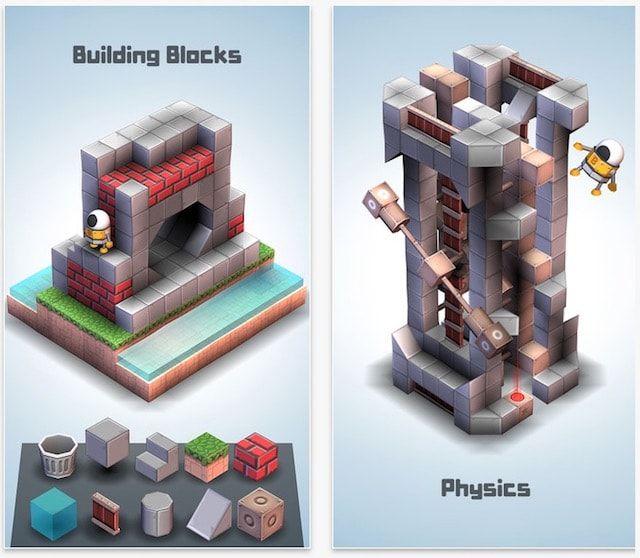 Mekorama – потрясающая игра для iOS-устройств с возможностью строить собственные игровые уровни
