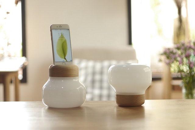 Mushroom Lamp - док-станция для iPhone в форме винтажной лампы