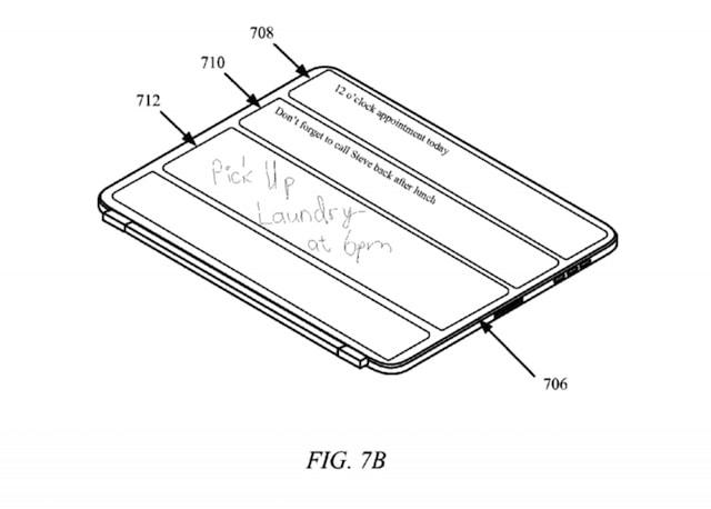 Apple запатентовала чехол-обложку Smart Cover нового поколения для iPad Pro
