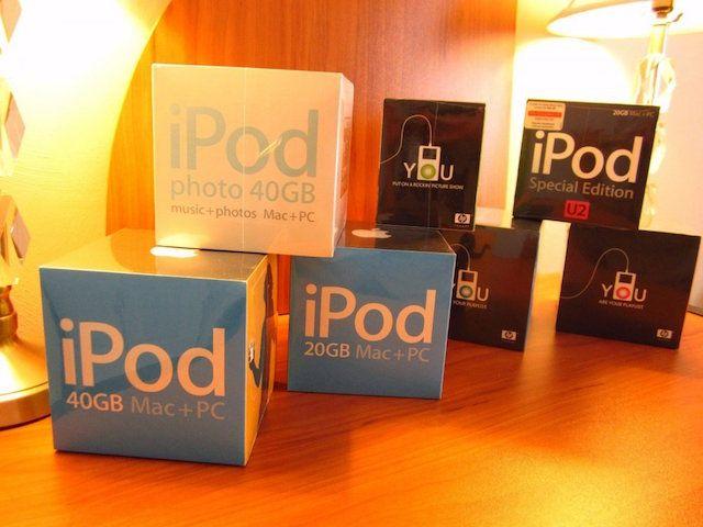 «Коллекционное издание» из семи iPod 4-го поколения