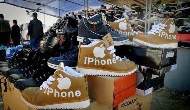 Китайские продукты под брендом iPhone