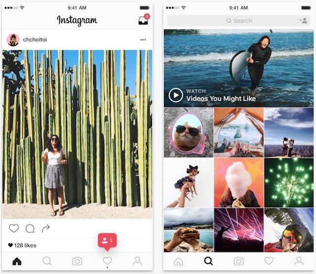 Instagram 8 для iPhone